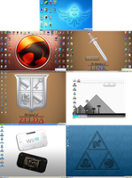 My Desktops 11.26.2012 by BLUEamnesiac
