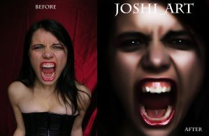 Scream before-after by joshi1404 by joshi1404