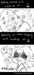 EI: Sleeping in Makeup by Little-Miss-Boxie