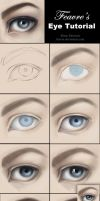 How to Paint Realistic Eyes Tutorial by feavre