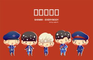 SHINee - Everybody by Jadekyy