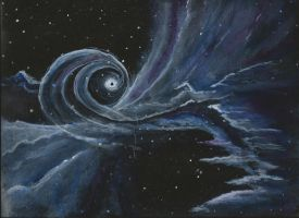 black hole by paintingmama