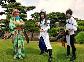 Cosplay at the Japanese Imperial Palace Grounds by AndySerrano