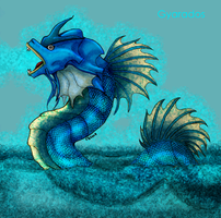 Crowntail Gyarados by Spinkels
