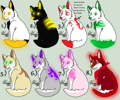 Free Wolf adopts~OPEN by Evelent
