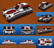 Bishop Light Battle Tank by Raven-Gold