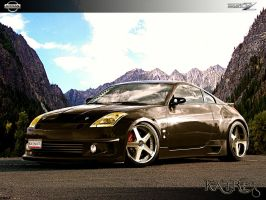 Nissan 350z by katre-design