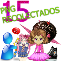 15 PNG RECOLECTADOS by rubyok