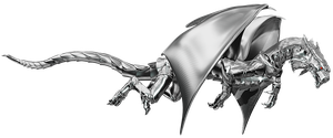 Steel Dragon Flying by Leviathan187