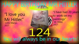 Happy Birthday Mr Hitler by Andywilson92