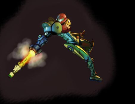 samus colored by bluejay02