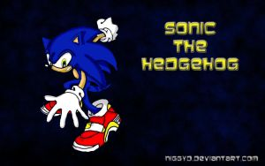 Sonic The Hedghog Wallpaper by niggyd