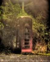 Old Phone Box by Blurred-perception
