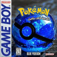 Pokemon Blue by wazzy88