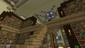 -MC- Palace: Library by Sareth1337