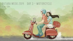 ZKWK14 - D3 - Motorcycle by zutaraxmylove