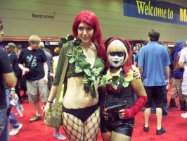 Megacon 2011: Harley and Ivy by OhSweetSerenity71892