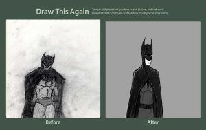 THE DRAW THIS AGAIN CONTEST BATMEN by GamerZzon