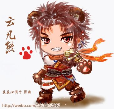 Chinese Paladin 5 ,little bear by happylife999