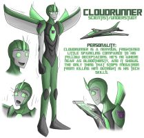 Cloudrunner - TFP OC by Cold-Creature
