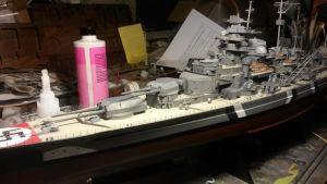 KMS Bismarck 5 by THE-WHITE-TIGER