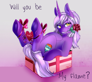 Be my Valentine - Amber by TheNeitherVoid
