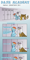 Danish Dash Academy 2 - Hot Flank Part 1 by ThatPonyUknow