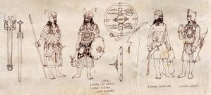 Archaic Light Infantry by Merlkir