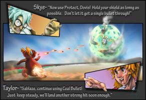 Nimbus Badge- Taylor vs. Skye by TheCreationist