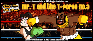 AT4W: Mr. T and the T-Force #3 by MTC-Studios