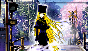 Galaxy Express 999-  Maetel In The Earth by elclon