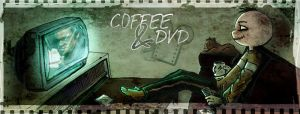coffee and dvd for G... by neurotic-elf