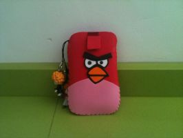 Angry Birds Mobile Case by anapeig