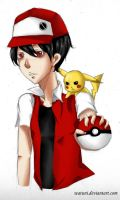 Red for x Dat Trainer Red x by watuni