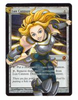 Lux Cannon Altered Art MTG Card by ke-couture