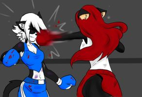 Beaten and Bloodied Round 2 .:Request:. by darkangelyuna