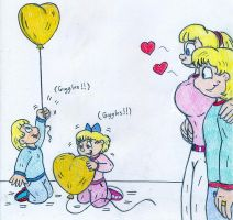 Valentine - Arnold, Helga and twins by Jose-Ramiro