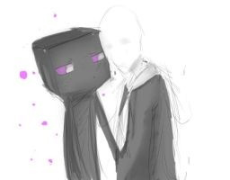 Enderman x Slenderman by KASODANI