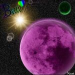 For Becca: Purple Moon by Kaz-13