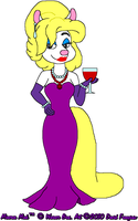 Minerva the Fancy Mink by tpirman1982
