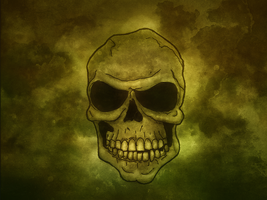 Skull Wallpaper by alex16