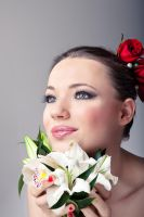 Bridal Make-up 01 by PinkFishGR