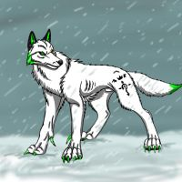SpamTrade for K0ca: Snow ghost by BullTerrierKa
