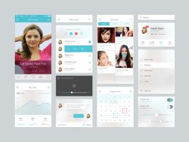 iOS 7 UI Components by DarkStaLkeRR