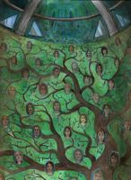 The Tree of the Faces by Gawarin