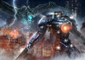 Pacific Rim by Ze-l