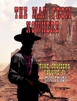 The Man from Nowhere Western SCI-FI Book Cover by tvcrazyman
