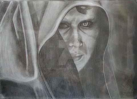 Anakin this is an older drawing I !!! by HajosJanos