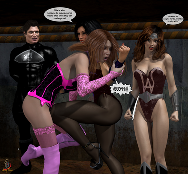 Meanwhile in the AntiVerse by ladytania