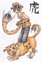 Nyron the Tiger by bailey1rox